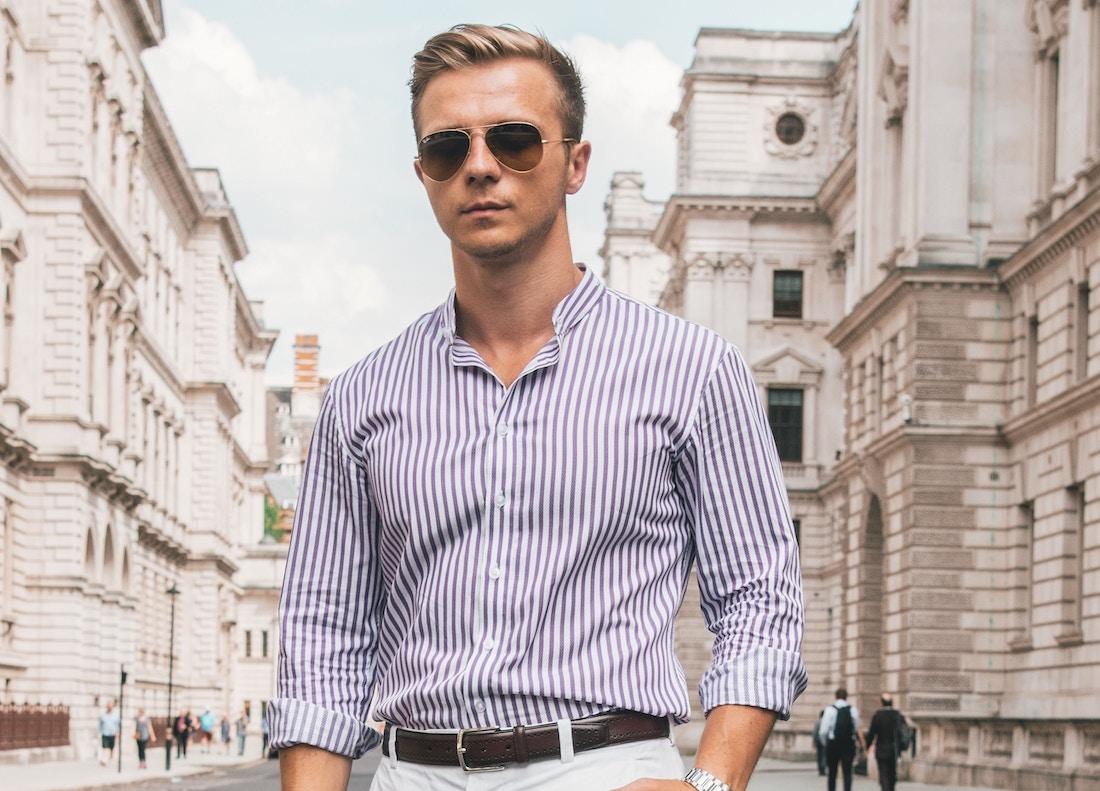 Koszula męska w paski – jak dopasować ją do sylwetki?