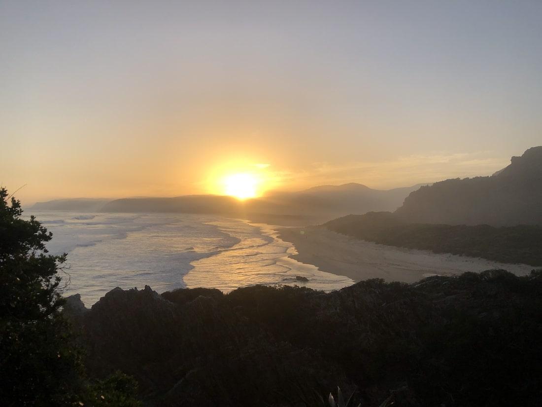Góra Stołowa zachód słońca