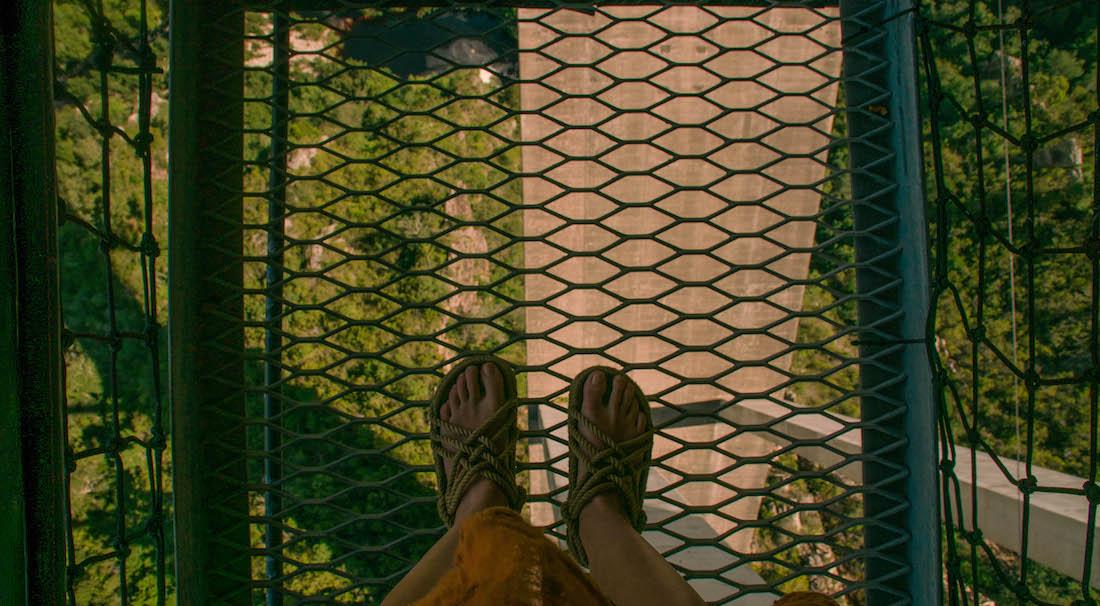 najwyższy most doskoku nabungee naświecie