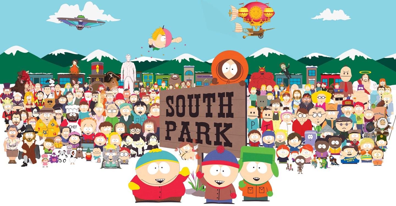 @Trey Parker Matt Stone Mary Kay Bergman Isaac Hayes South Park
